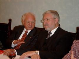 Unsere Oberbürgermeister Fritz Geisperger und Reinhold Perlak