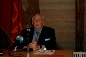 Hans-Jürgen Wischnewski bei der Festrede