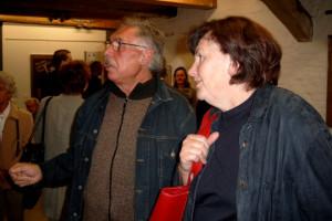 Fritz Keller und Renate Vicari